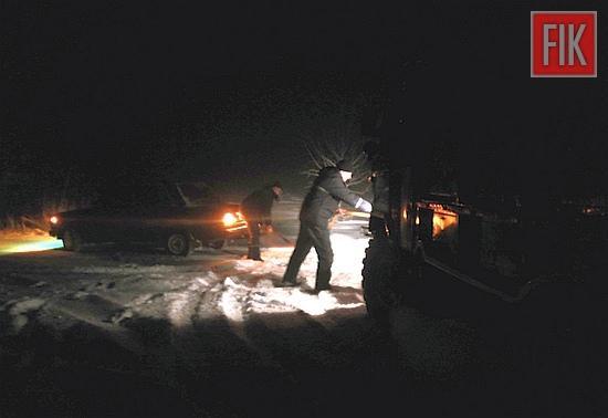 20 січня о 18:15 до Служби порятунку «101» надійшло повідомлення від водія легкового автомобіля «ВАЗ-2105» про те, що йому потрібна допомога по буксируванню з ускладненої ділянки дороги поблизу с. Новолутківка Добровеличківського району.