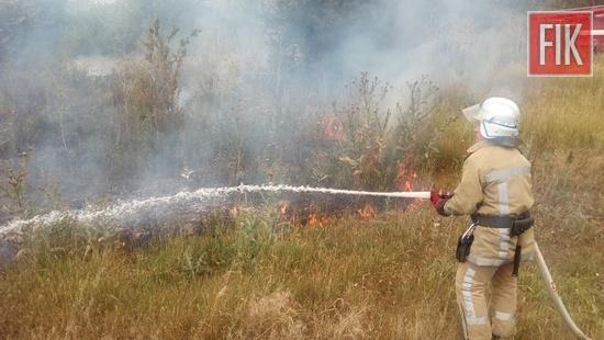 За добу, що минула, пожежно-рятувальні підрозділи Кіровоградської області 4 рази виїздили на гасіння пожеж сухої трави на відкритих територіях.