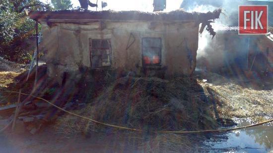 Протягом минулої доби пожежно-рятувальні підрозділи Кіровоградської області двічі гасили пожежі будівель господарського призначення на територіях приватних домоволодінь.