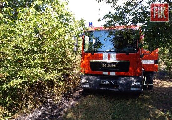 За минулу добу пожежно-рятувальні підрозділи Кіровоградської області тричі виїжджали на гасіння пожеж сухої трави на відкритих територіях.