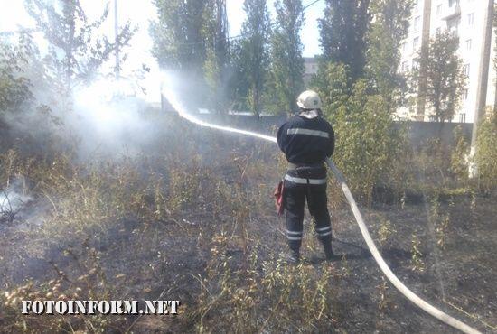 Минула доба відзначилась 10 випадками пожеж сухої рослинності та сміття на території Кіровоградської області.