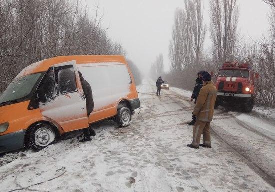 За добу, що минула, пожежно-рятувальні підрозділи Кіровоградської області 6 разів залучались до буксирування автотранспорту з ускладнених ділянок доріг.