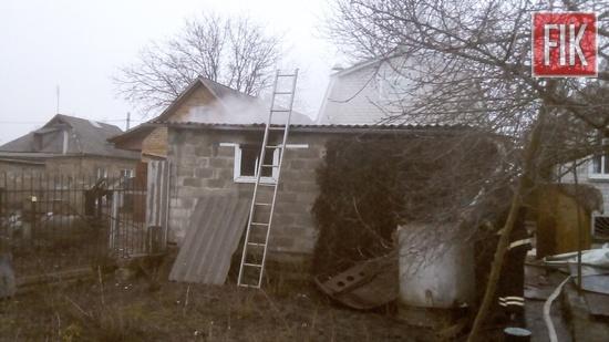 1 січня о 07:10 до Служби порятунку «101» надійшло повідомлення про пожежу на території приватного домоволодіння на вул. Пролісковій м. Мала Виска.
