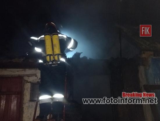 Кіровоградщина, житловому секторі пожежі