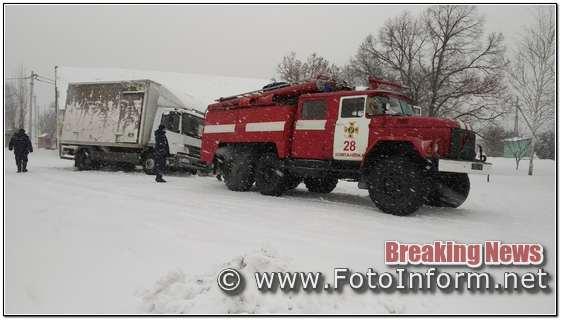 Рятувальники, Кіровоградщини, здійснили 17 виїздів, для надання допомоги водіям,ФОТО