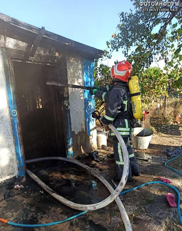 На Кіровоградщині під час пожежі загинула дитина , ФОТО, фотоинформ, кропивницький, пожежа