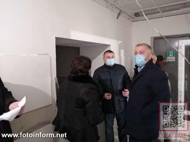 Андрій Назаренко, Кропивницькому, в обласній лікарні, запрацювала киснева станція (фоторепортаж)