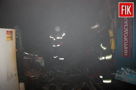 13 вересня о 00:50 до Служби порятунку «101» надійшло повідомлення про пожежу торгівельного павільйону на першому поверсі будівлі Центрального ринку, що по вул.Великій Перспективній м.Кропивницького.