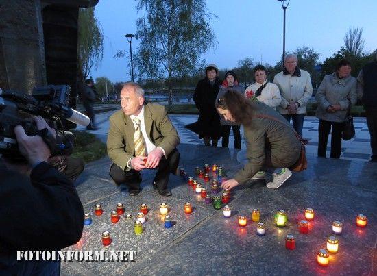 У Кропивницькому відбулась акція «Запали свічку пам`яті»