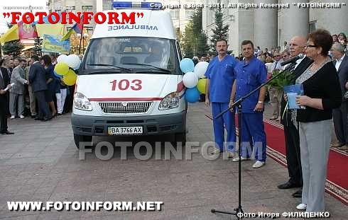 Автомобіль швидкої медичної допомоги, подарований на День міста, буде переобладнано під дитячий реанімобіль (ФОТО)
