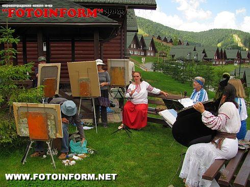 Триває Карпатський пленер «Буковель. Літо 2011» (ФОТО)
