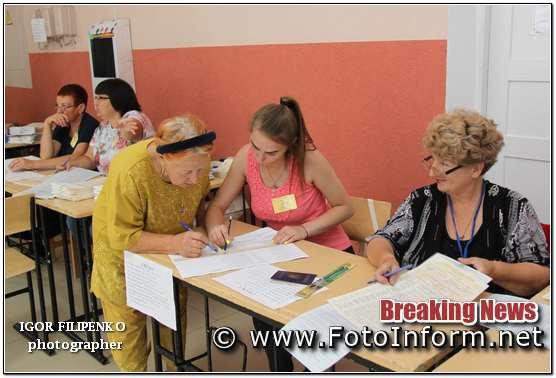 фото филипенко, Парламентські вибори: як голосували у Кропивницькому? (фоторепортаж)