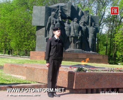 """Сегодня на Мемориальном кладбище """"Крепостные валы"""" был дан старт в военно - патриотическом воспитания учащейся молодежи"""