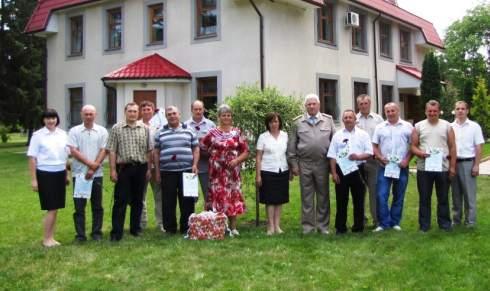 Лісівники нагородили кращих за результатами Тижня охорони праці (ФОТО)