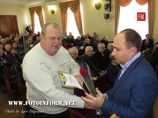 Кропивницький: чорнобильці отримали матеріальну допомогу від міської влади (ВІДЕО, ФОТО)