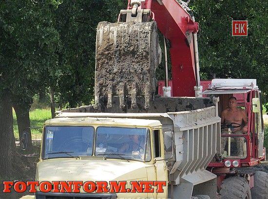 Кропивницкий: к осени дамба будет отремонтирована