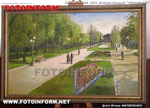 Виставка за підсумками проведення Весняного пленеру в Дендропарку (ФОТО)