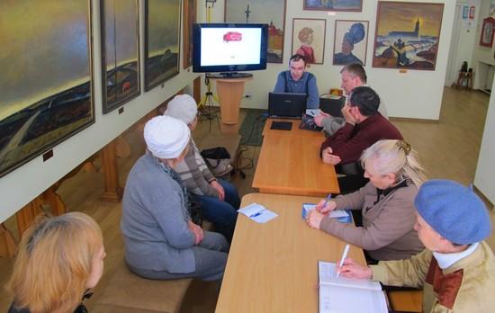 16 березня 2017 року у відділі обласного художнього музею - картинній галереї Петра Оссовського відбулась лекція з історії мистецтва під назвою «Мистецтво Давнього світу» .