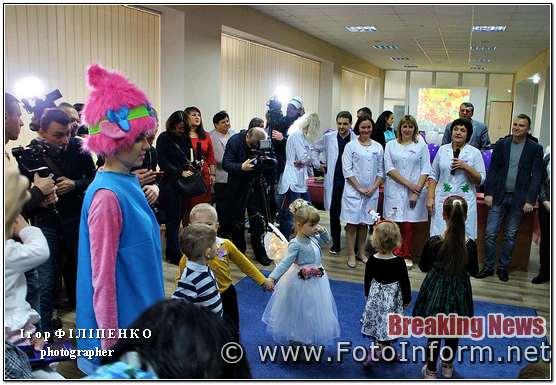 Лариса Андрєєва, кропивницький новини, У Кропивницькому, в обласній лікарні, відзначили свято «поспішайок», ВІДЕО,