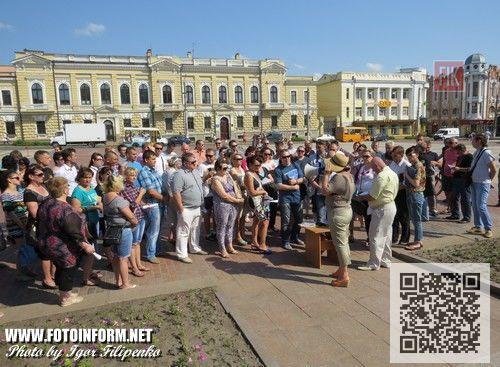 Сегодня, 10 июня, предприниматели Кировограда снова вышли на главную площадь города с акцией протеста.