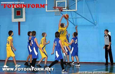 В Кировограде проходят соревнования баскетбольной лиги Украины (ФОТОРЕПОРТАЖ)