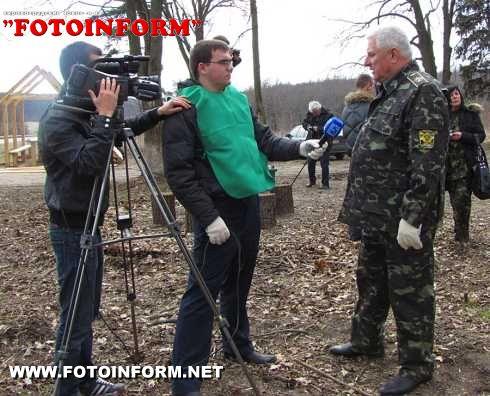 На Кіровоградщині пройшов суботник під гаслом «Подаруй життя лісу» (ФОТО)