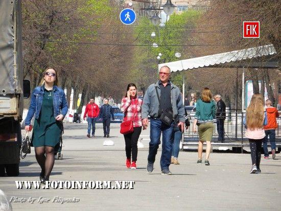 Кропивницький в об'єктиві: 14 квітня (фоторепортаж)