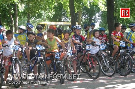 В Кировограде открыли первую велодорожку (ФОТО)