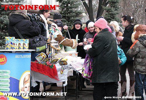 Вы очевидец: В Кировограде сгущенка лилась рекой (ФОТО)