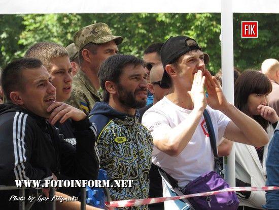 Сьогодні, 3 червня, у парку культури та відпочинку «Ковалівський» проходив IV щорічний «Кубок України на звання найбільш фізично підготовленої людини».