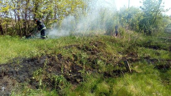 Суха і тепла погода сприяє збільшенню кількості пожеж торішньої рослинності, сміття на відкритих територіях населених пунктів Кіровоградщини.