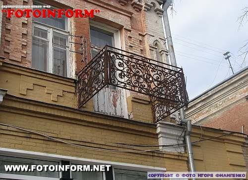 Вы очевидец: На Дворцовой падают балконы (ФОТО)