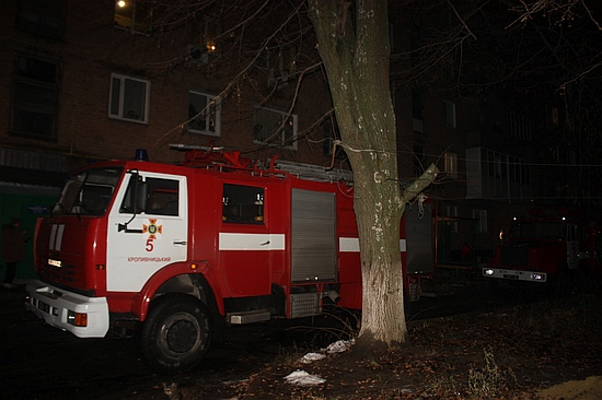 9 грудня о 17:12 до Служби порятунку «101» надійшло повідомлення про пожежу у квартирі 5-поверхового житлового будинку по вул. Яновського, що в обласному центрі