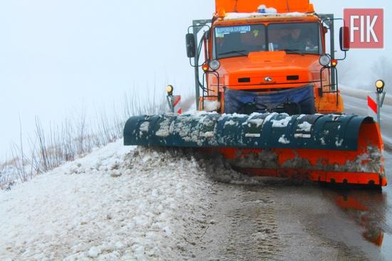 Пропуск талої води та ліквідація аварійно небезпечних вибоїн – на порядку денному у кіровоградських дорожників.