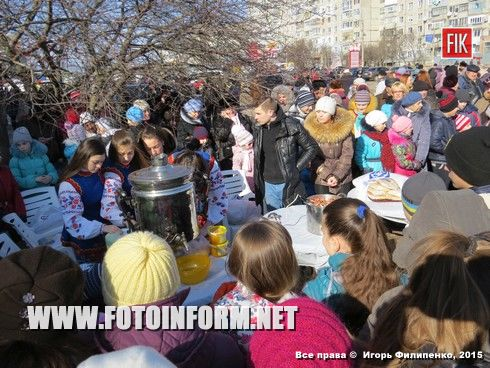 В Кировограде прошли массовые гулянья (фоторепортаж)