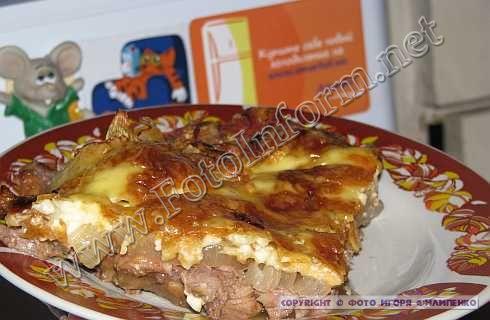 Дико вкусное мясо! Рецепт моей свекрови - мясо по-министерски (ФОТО)