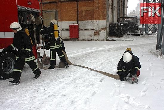 Підприємстві «Теплоенергетик», 1-го Державного пожежно-рятувального загону