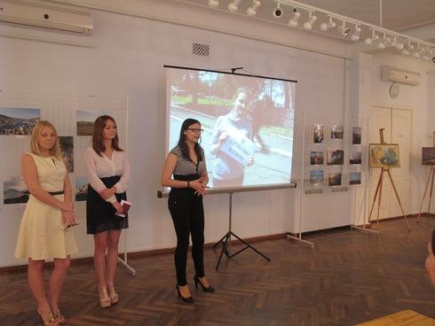 20 травня 2014 року в Кіровоградському обласному художньому музеї відкрито фотовиставку «За десять хвилин до весни» .