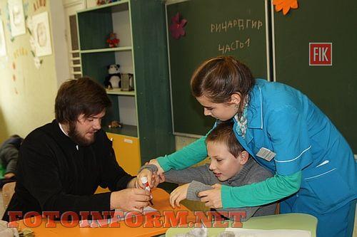 """учасники молодіжного волонтерського руху """"Покров"""" провели заняття для дітей аутистів"""