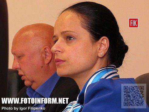 Заместитель председателя Кировоградской ОГА Вита Атаманчук
