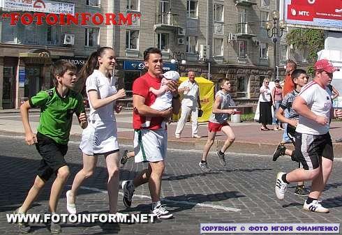 В Кировограде состоялся массовый пробег (ФОТОРЕПОРТАЖ)