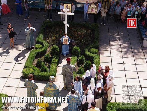 Кировоградцы пришли к горсовету с молитвой