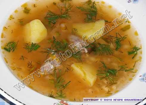 Суп «Больничный» усовершенствованный