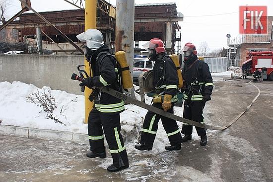 25 січня у м. Кропивницькому відбулись тактичні навчання з особовим складом 1-го Державного пожежно-рятувального загону з ліквідації наслідків надзвичайної ситуації на ПАТ «Гідросила».