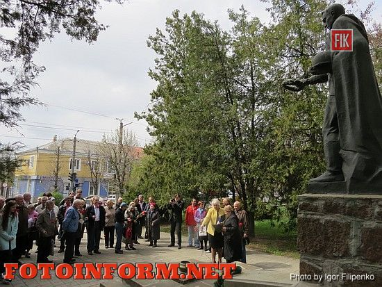 В Кировограде почтили память замученных узников концлагерей