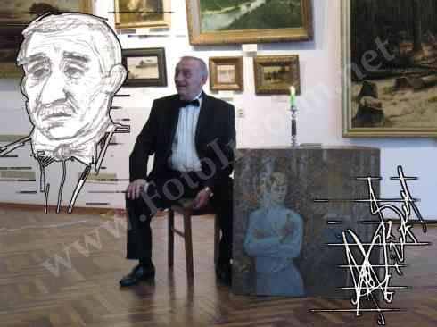 «Театральна вітальня» в обласному художньому музеї (ФОТО)