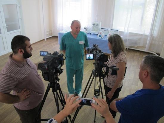27 липня 2017 року відбулася передача обладнання для обласного онкологічного диспансеру, яке було придбано за кошти зібрані під час Восьмого Великоднього Благодійного Аукціону.