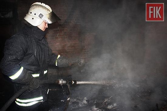 29 січня о 19:27 до Служби порятунку «101» надійшло повідомлення про пожежу господарчої споруди на вул. Олінського в обласному центрі.