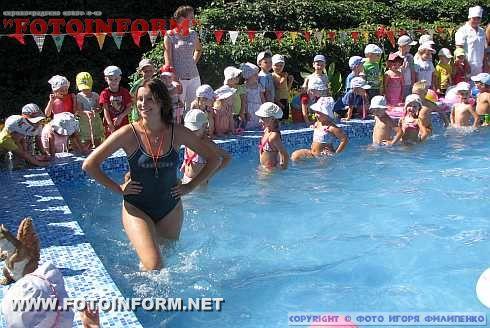 В Кировограде появился бассейн на территории детского садика (фото)