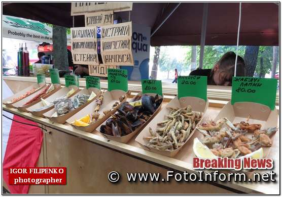 #кропфудфест, #кропфестфуд, фото филипенко, Четвертий фестиваль вуличної їжі у Кропивницькому, равлики, мідії, жаб'ячі лапки та розваги (фоторепортаж)